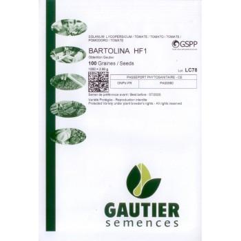 BARTOLINA HF1, valgomieji pomidorai, 100 sėklų - GAUTIER PAKUOTĖ