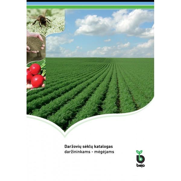 Bejo Zaden daržovių sėklų katalogas daržininkams mėgėjams