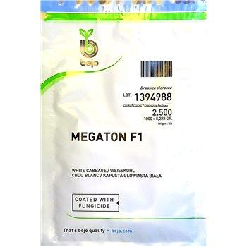 MEGATON F1, baltieji gūžiniai kopūstai, 2500 sėklų