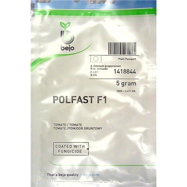 POLFAST F1, valgomieji pomidorai, 5 gramai