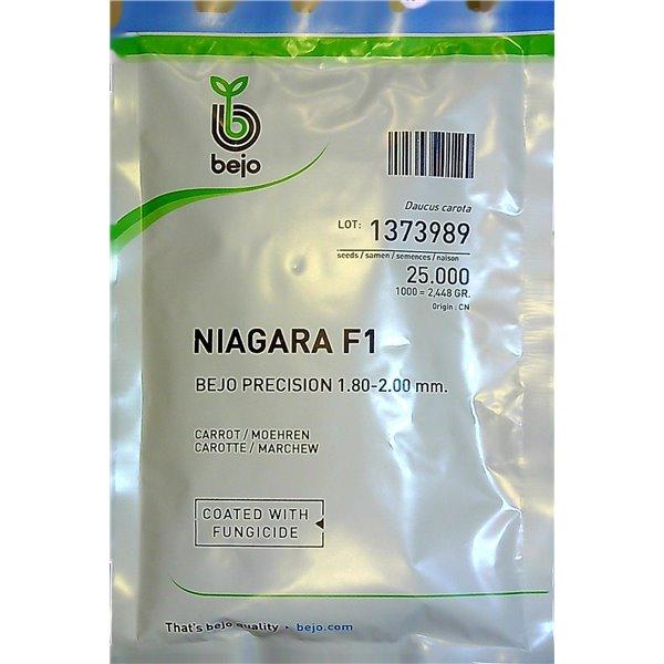 NIAGARA F1, valgomosios morkos, 25000 sėklų