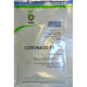 Brokoliai CORONADO F1, 2500 sėklų