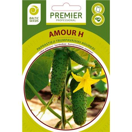 AMOUR H, savidulkiai agurkai, 20 sėklų