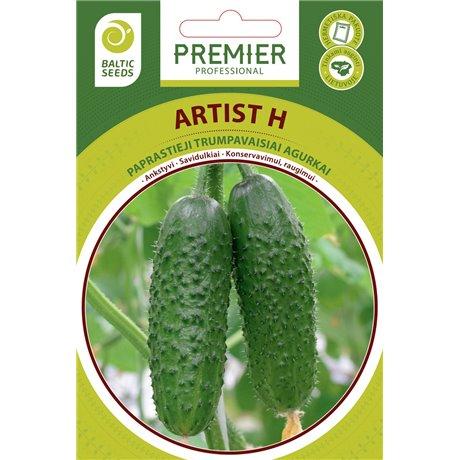 ARTIST H, savidulkiai agurkai, 20 sėklų
