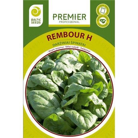 REMBOUR H, špinatai (vasariniai), 300 sėklų