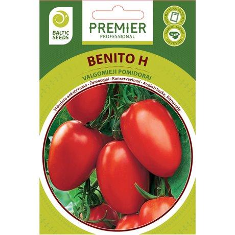 BENITO H, valgomieji pomidorai, 35 sėklos