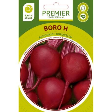 BORO H, raudonieji burokėliai, 200 sėklų