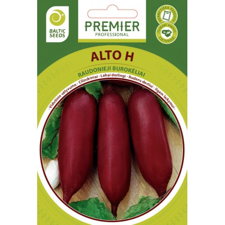 ALTO H, raudonieji burokėliai, 200 sėklų