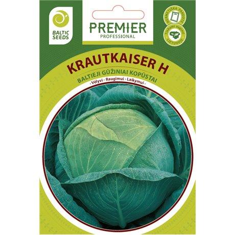 KRAUTKAISER H, baltieji gūžiniai kopūstai, 45 sėklos