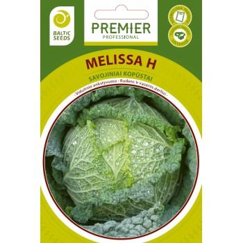 MELISSA H, savojiniai kopūstai, 20 sėklų