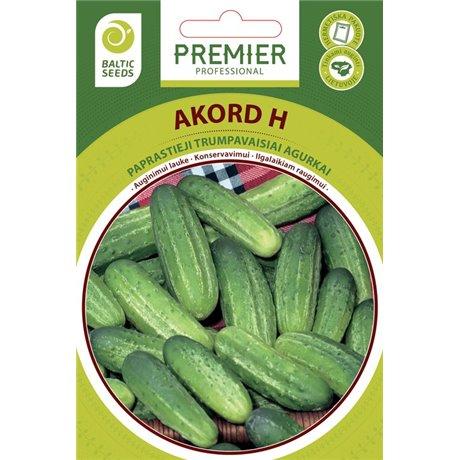 AKORD H, trumpavaisiai lauko agurkai, 60 sėklų