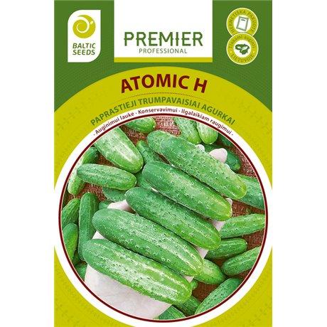 ATOMIC H, lauko agurkai, 60 sėklų